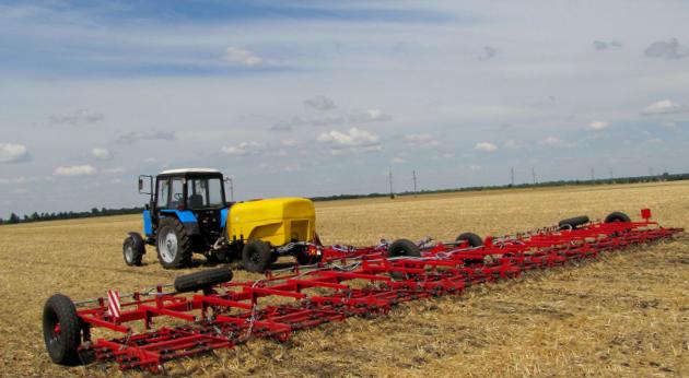 Производство сельхозтехники в Украине недостаточное