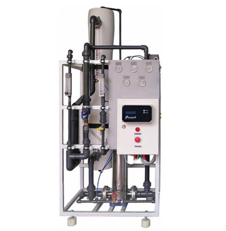 Подача качественной воды через промышленную очистку