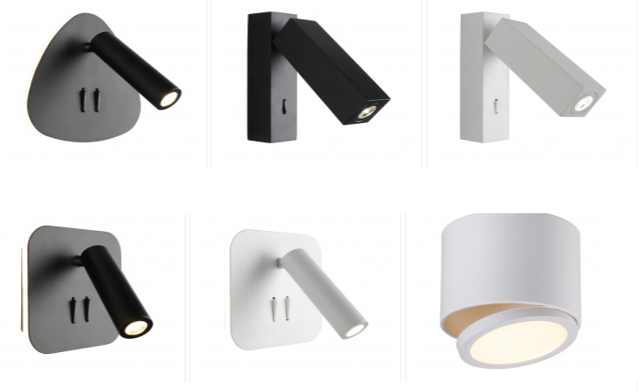 Поворотные светильники (светодиодные споты)