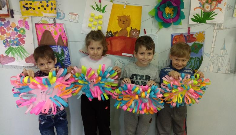 В детском центре «Хогвартс» особое внимание уделяется творческим занятиям