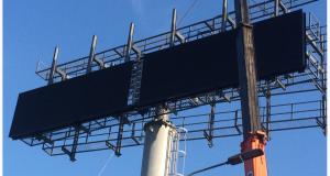 Как именно может быть установлен светодиодный экран?