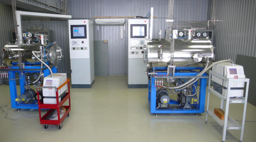 Использование вакуумного оборудования