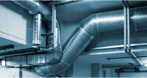 Промышленная система вентиляции